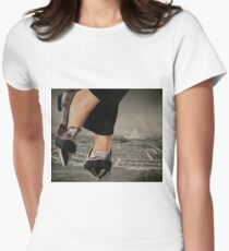 Larger than life Womens Fitted T-Shirt