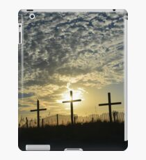 God's light shining down iPad Case/Skin