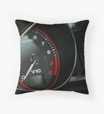 V10 Audi R8 Cluster Left Side Throw Pillow