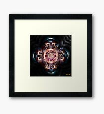 Controlling The Atomic Chaos Framed Print