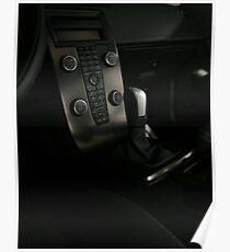 VOLVO C30 R-Design Control Console  Poster