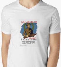 Enlist For The Infantry -- WWI Mens V-Neck T-Shirt