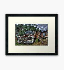 rust bucket Framed Print