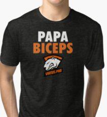PAPA BICEPS [PASHA BICEPS] VP | Virtus Pro Tri-blend T-Shirt