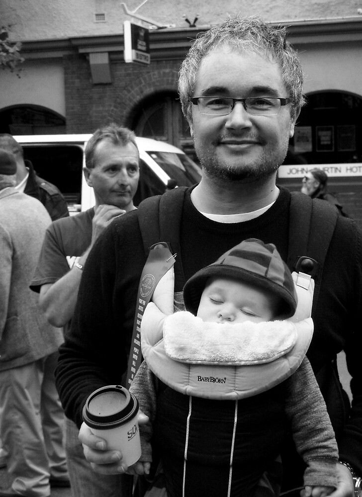 Anarchist and Baby by Andrew  Makowiecki