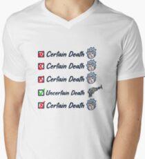 Death crystal V-Neck T-Shirt