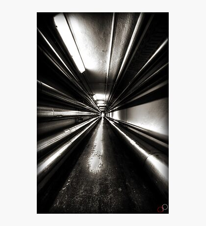 Brewery Tunnel Photographic Print
