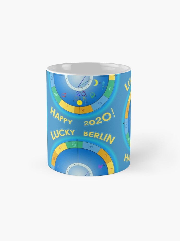 Alternate view of HAPPY 2020 LUCKY BERLIN! Berlin's Horoscope for 2020 Mug