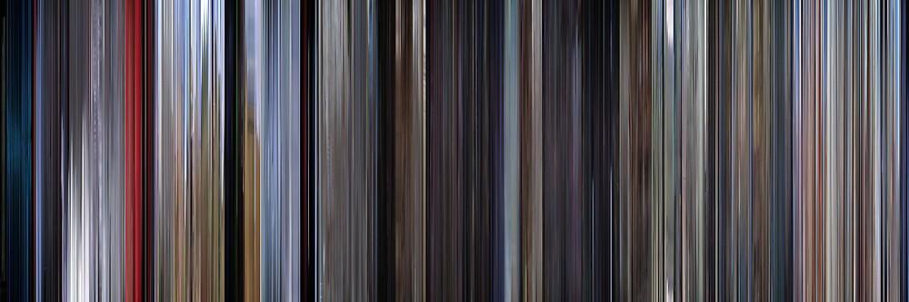 Moviebarcode: Superman (1978) by moviebarcode