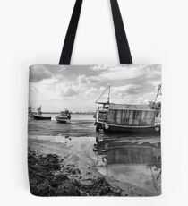 Paddys Hole  South Gare Tote Bag