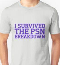 I survived the psn breakdown T-Shirt