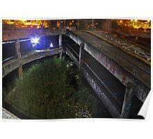 """Carpark"" An abandoned underground carpark. Poster"
