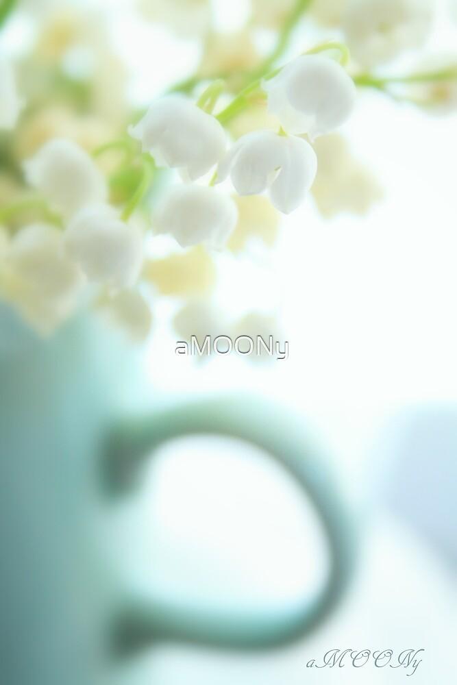 Blue mug by aMOONy