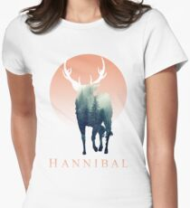 Forest Ravenstag Women's Fitted T-Shirt