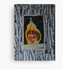 Doughnuts - Abstract Outsider Art Canvas Print