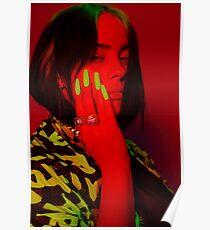 Billie Glow In The Dark Poster