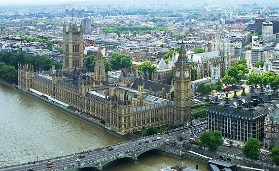 Westminster, London England by Bob Culshaw