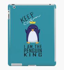 Penguin King iPad Case/Skin