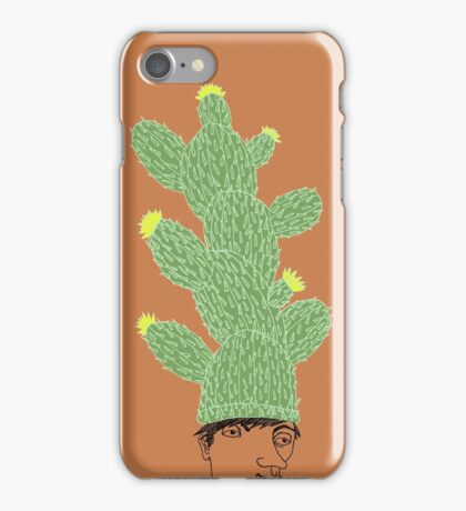 Cactus Hat Hipster Street Wear iPhone Case/Skin