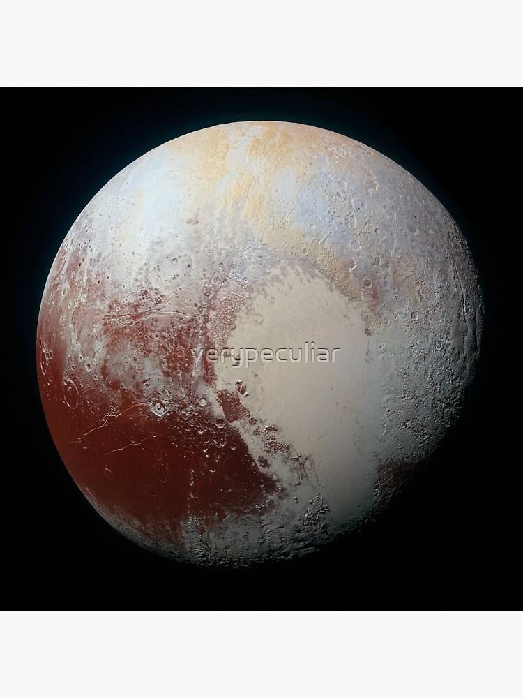 PLUTO - New hi-res image from NEW HORIZONS spacecraft by verypeculiar