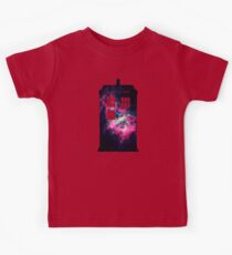 Space TARDIS - Doctor Who Kids Tee