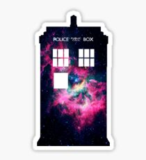 Space TARDIS - Doctor Who Sticker