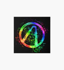 Rainbow Splash Vault Hunter Symbol Art Board Print