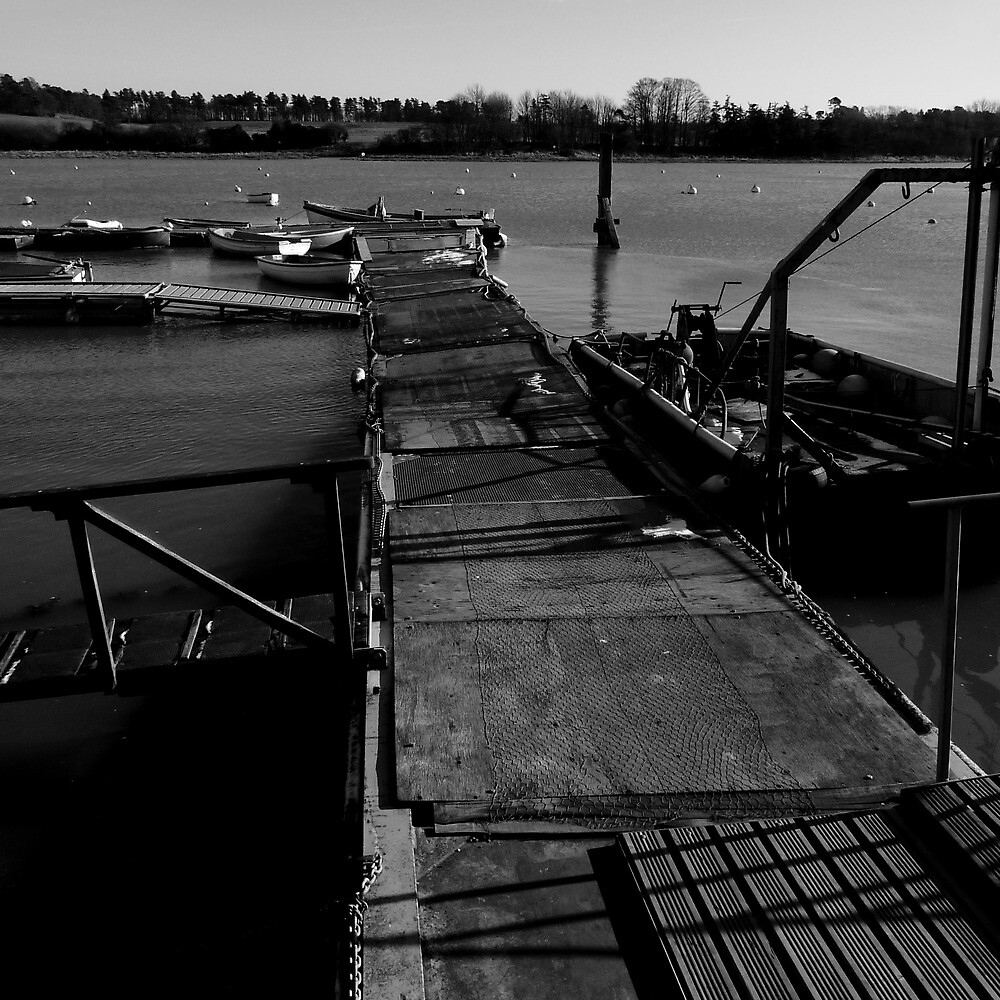 The jetty at the Deben by DanStyles