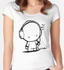 Music Man Women's Fitted Scoop T-Shirt