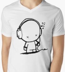 Music Man Men's V-Neck T-Shirt