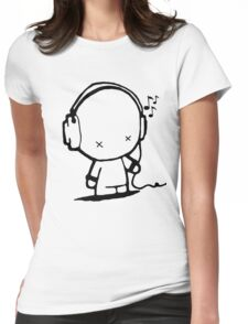Music Man Womens Fitted T-Shirt
