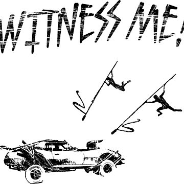 WITNESS ME by CAWilliams
