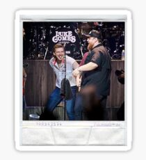 Morgan Wallen and Luke Combs Sticker
