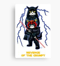 Revenge of the Grumpy Canvas Print
