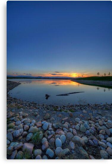 Rocky Mountain Sunset Series - Deep Blues by Jonathan Bartlett