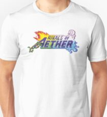 Rivals of Aether Logo Pixel print T-Shirt