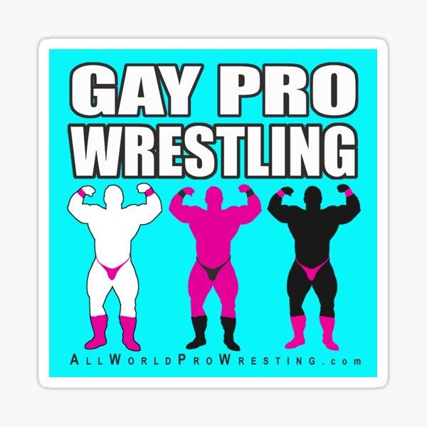 GAY PRO WRESTLING Sticker