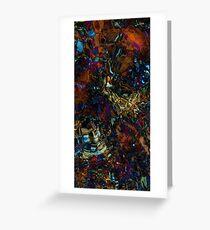 Menauhant Seafloor - Mid Greeting Card