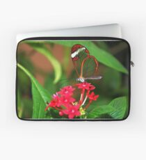 Flower Glasswing - Greta Oto Laptop Sleeve
