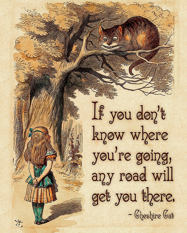 Quot Alice In Wonderland Quote We Re All Mad Here Cheshire