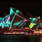 Opera House Vivid lights by Michael Matthews