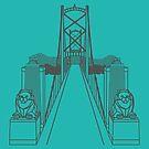 Lionsgate Bridge, Vancouver by a-roderick