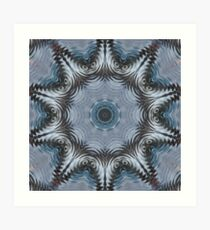Rainy Night Kaleidoscope 01 Art Print