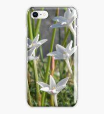 Median Rain Lilies iPhone Case/Skin
