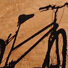 Shadow Bicycle by outbackwriter