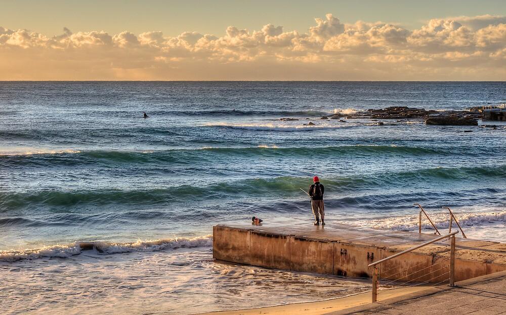 Dee Why Fisherman by Jason Ruth