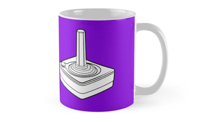 Purple Atari Jostick Mug