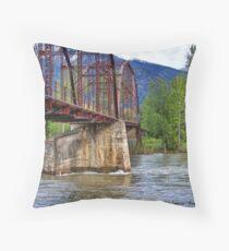 Flood Watch Throw Pillow