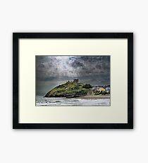 Criccieth Castle Framed Print