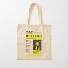 Miles Davis In Concert (distressed design) Cotton Tote Bag